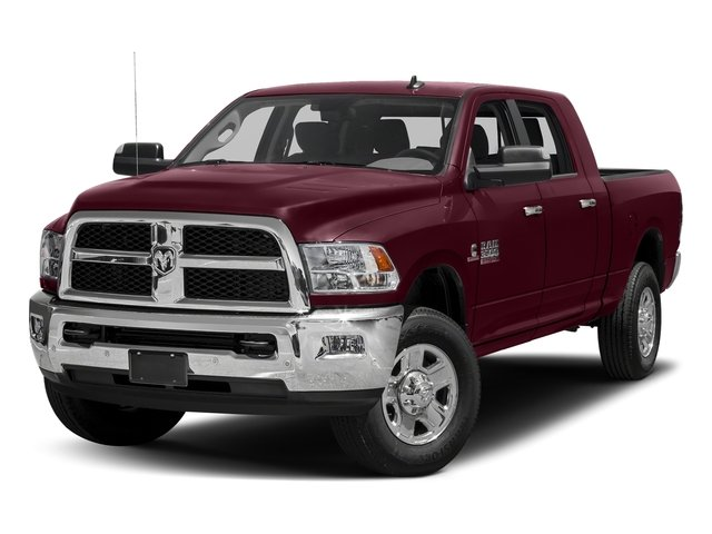 Delmonico Red Pearlcoat 2018 Ram Truck 3500 Pictures 3500 Big Horn 4x4 Mega Cab 6'4 Box photos front view