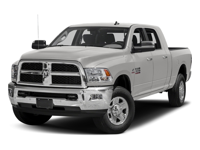 Bright Silver Metallic Clearcoat 2018 Ram Truck 3500 Pictures 3500 Mega Cab SLT 4WD photos front view