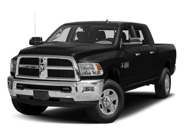 Black Clearcoat 2018 Ram Truck 3500 Pictures 3500 Mega Cab Bighorn/Lone Star 2WD photos front view