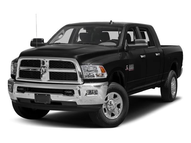 Brilliant Black Crystal Pearlcoat 2018 Ram Truck 3500 Pictures 3500 Mega Cab Bighorn/Lone Star 2WD photos front view