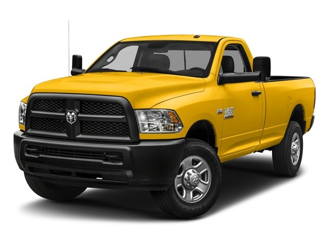 Yellow 2018 Ram Truck 3500 Pictures 3500 Tradesman 4x2 Reg Cab 8' Box photos front view