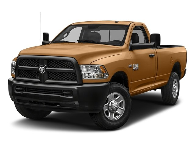 Power Tan 2018 Ram Truck 3500 Pictures 3500 Tradesman 4x2 Reg Cab 8' Box photos front view