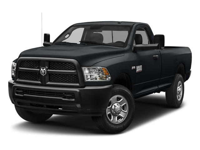 Maximum Steel Metallic Clearcoat 2018 Ram Truck 3500 Pictures 3500 Tradesman 4x2 Reg Cab 8' Box photos front view