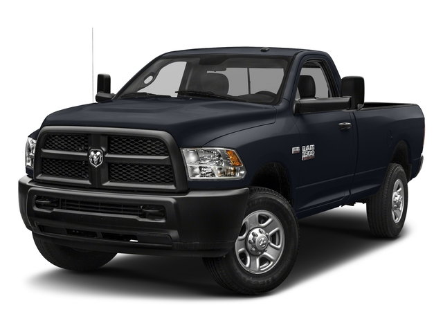 Midnight Blue Pearlcoat 2018 Ram Truck 3500 Pictures 3500 Tradesman 4x2 Reg Cab 8' Box photos front view