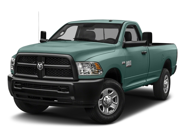 Light Green 2018 Ram Truck 3500 Pictures 3500 Tradesman 4x2 Reg Cab 8' Box photos front view
