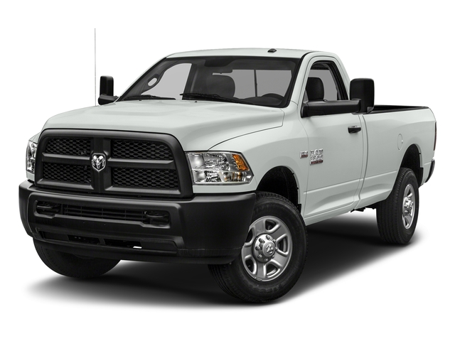 Bright White Clearcoat 2018 Ram Truck 3500 Pictures 3500 Regular Cab SLT 2WD photos front view