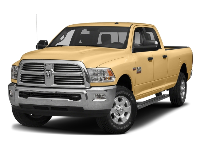 Light Cream 2018 Ram Truck 3500 Pictures 3500 Big Horn 4x4 Crew Cab 8' Box photos front view