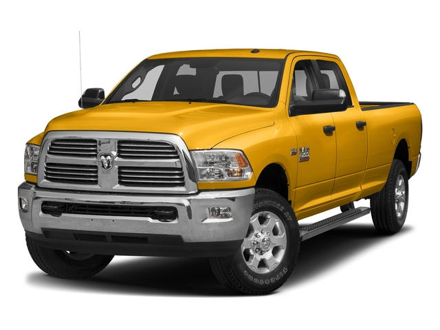 Construction Yellow 2018 Ram Truck 3500 Pictures 3500 Big Horn 4x4 Crew Cab 8' Box photos front view