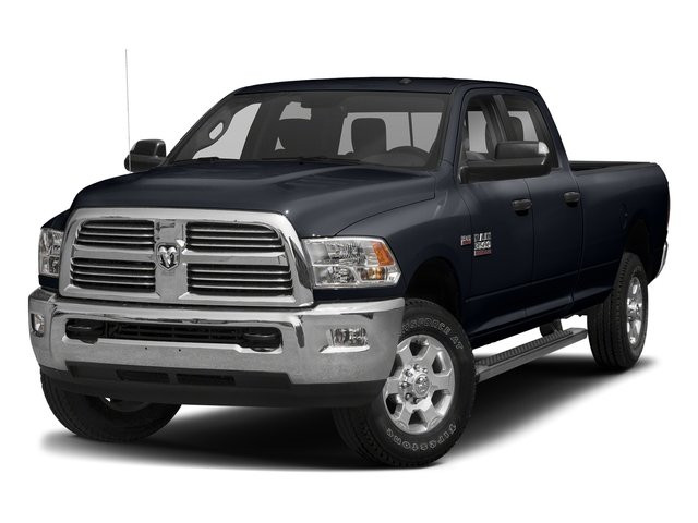 Midnight Blue Pearlcoat 2018 Ram Truck 3500 Pictures 3500 Big Horn 4x4 Crew Cab 8' Box photos front view
