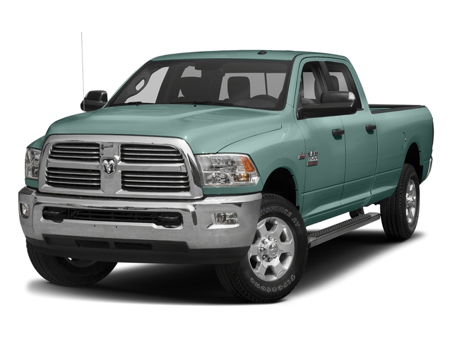 Light Green 2018 Ram Truck 3500 Pictures 3500 Big Horn 4x4 Crew Cab 8' Box photos front view