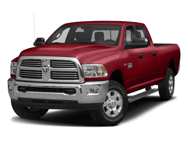 Flame Red Clearcoat 2018 Ram Truck 3500 Pictures 3500 Big Horn 4x4 Crew Cab 8' Box photos front view