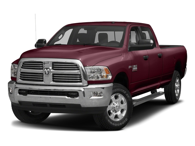 Delmonico Red Pearlcoat 2018 Ram Truck 3500 Pictures 3500 Big Horn 4x4 Crew Cab 8' Box photos front view