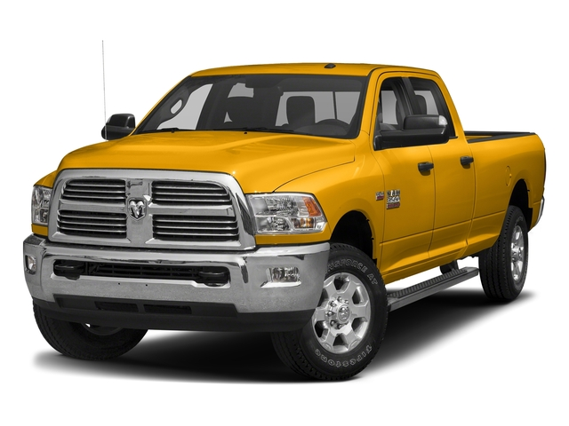 Detonator Yellow Clearcoat 2018 Ram Truck 3500 Pictures 3500 Big Horn 4x4 Crew Cab 8' Box photos front view