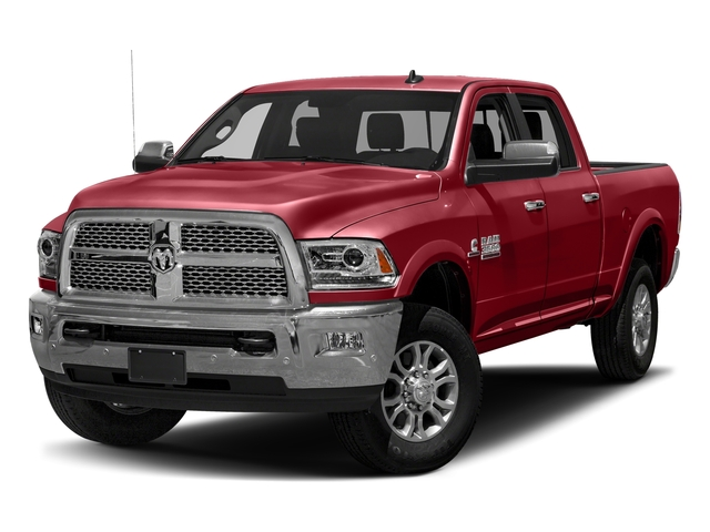 Flame Red Clearcoat 2018 Ram Truck 3500 Pictures 3500 Laramie Longhorn 4x4 Crew Cab 6'4 Box photos front view