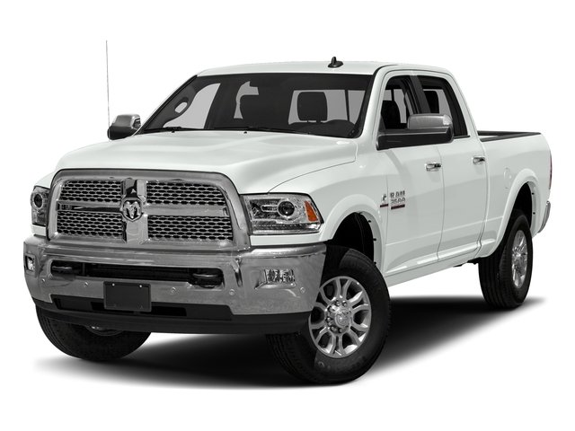 Bright White Clearcoat 2018 Ram Truck 3500 Pictures 3500 Limited 4x2 Crew Cab 6'4 Box photos front view