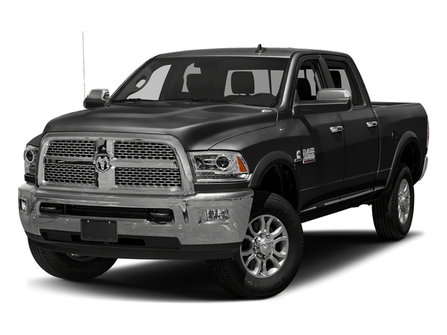 Brilliant Black Crystal Pearlcoat 2018 Ram Truck 3500 Pictures 3500 Limited 4x2 Crew Cab 6'4 Box photos front view