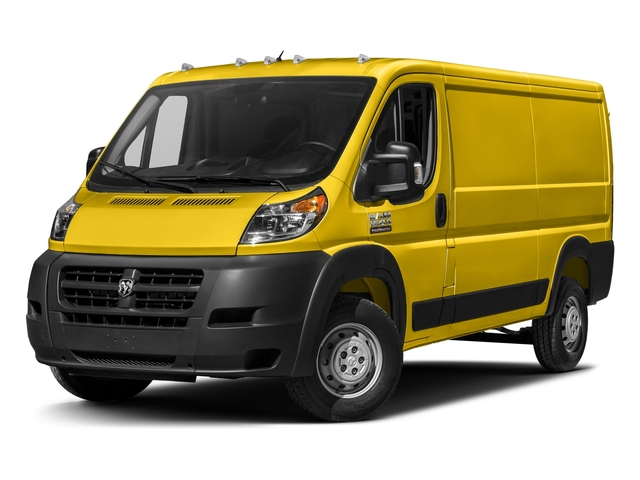 Broom Yellow Clearcoat 2018 Ram Truck ProMaster Cargo Van Pictures ProMaster Cargo Van 1500 Low Roof 118 WB photos front view