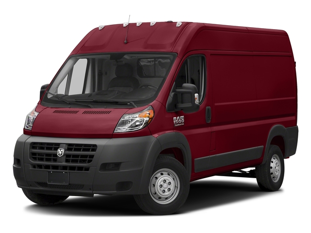 Deep Cherry Red Crystal Pearlcoat 2018 Ram Truck ProMaster Cargo Van Pictures ProMaster Cargo Van 1500 High Roof 136 WB photos front view