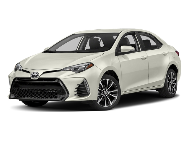 Blizzard Pearl 2018 Toyota Corolla Pictures Corolla Sedan 4D SE I4 photos front view
