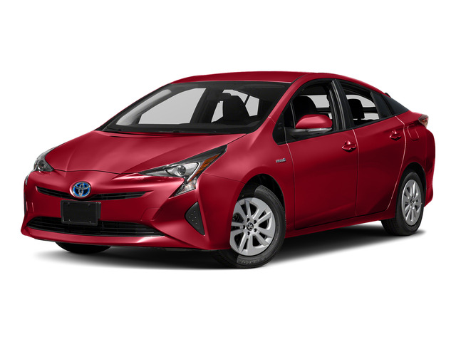 Hypersonic Red 2018 Toyota Prius Pictures Prius Liftback 5D Four I4 Hybrid photos front view