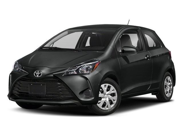 Black Sand Pearl 2018 Toyota Yaris Pictures Yaris Hatchback 3D LE I4 photos front view