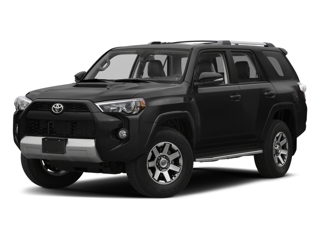 Midnight Black Metallic 2018 Toyota 4Runner Pictures 4Runner TRD Off Road 4WD photos front view
