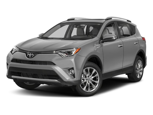 Silver Sky Metallic 2018 Toyota RAV4 Pictures RAV4 Utility 4D Limited 2WD I4 photos front view