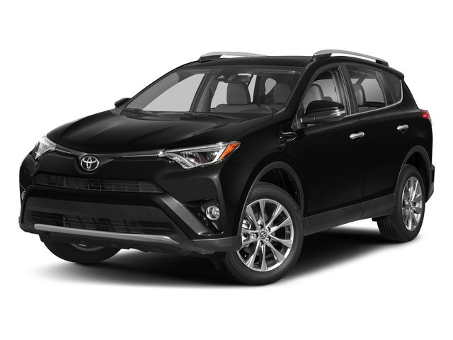 Black 2018 Toyota RAV4 Pictures RAV4 Utility 4D Limited 2WD I4 photos front view