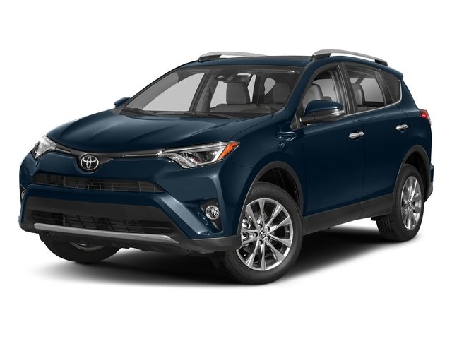 Galactic Aqua Mica 2018 Toyota RAV4 Pictures RAV4 Utility 4D Limited 2WD I4 photos front view