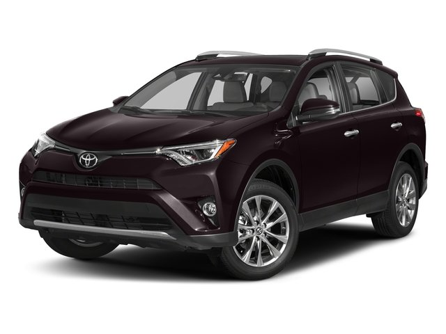 Black Currant Metallic 2018 Toyota RAV4 Pictures RAV4 Utility 4D Limited 2WD I4 photos front view