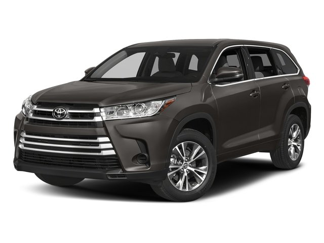 Predawn Gray Mica 2018 Toyota Highlander Pictures Highlander Utility 4D LE Plus 4WD V6 photos front view