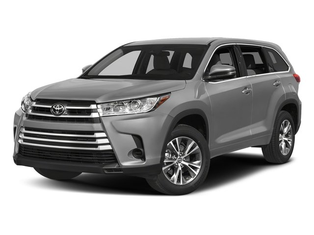 Celestial Silver Metallic 2018 Toyota Highlander Pictures Highlander Utility 4D LE Plus 4WD V6 photos front view