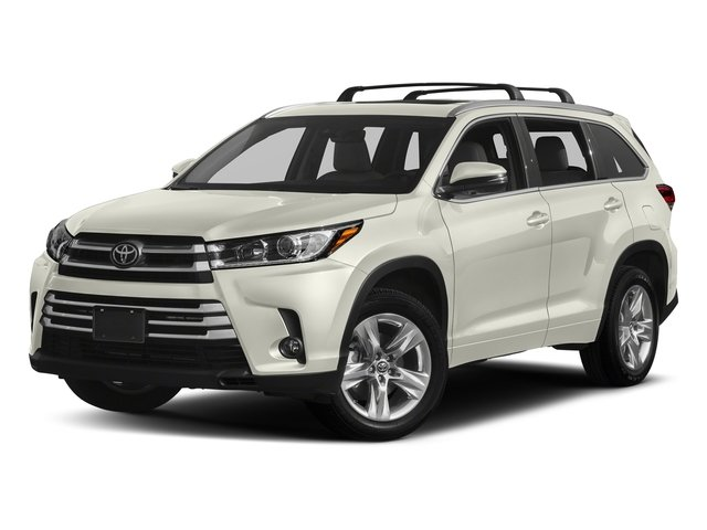 Blizzard Pearl 2018 Toyota Highlander Pictures Highlander Utility 4D Limited 4WD V6 photos front view