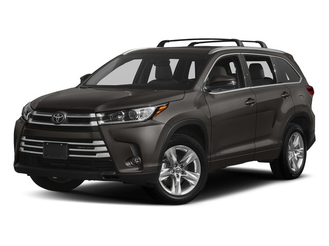 Predawn Gray Mica 2018 Toyota Highlander Pictures Highlander Utility 4D Limited 4WD V6 photos front view
