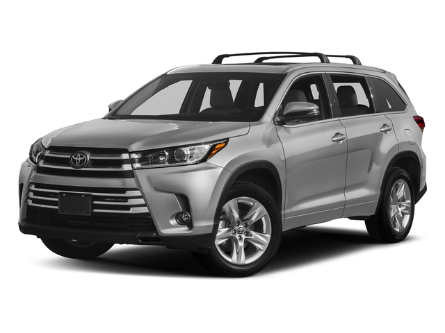 Celestial Silver Metallic 2018 Toyota Highlander Pictures Highlander Utility 4D Limited 4WD V6 photos front view