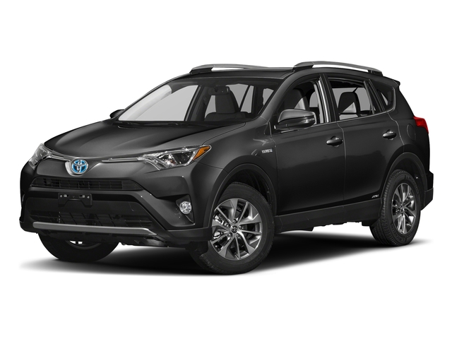 Magnetic Gray Metallic 2018 Toyota RAV4 Pictures RAV4 Utility 4D XLE AWD I4 Hybrid photos front view