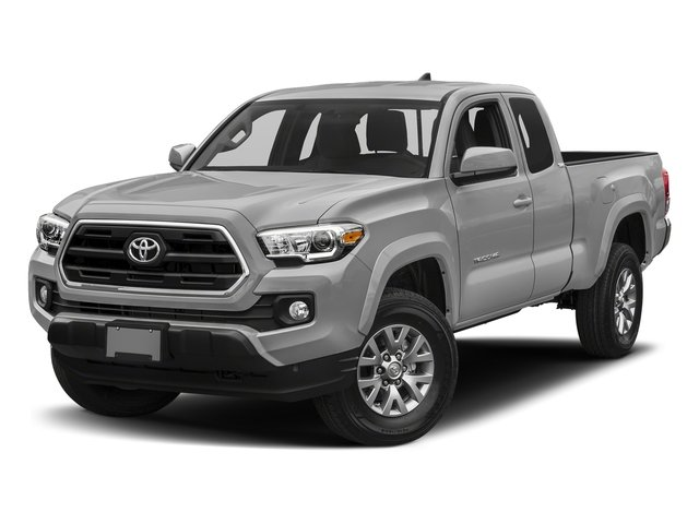 Silver Sky Metallic 2018 Toyota Tacoma Pictures Tacoma SR5 Extended Cab 4WD I4 photos front view