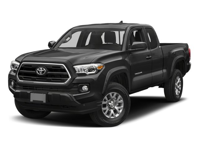 Magnetic Gray Metallic 2018 Toyota Tacoma Pictures Tacoma SR5 Extended Cab 4WD I4 photos front view