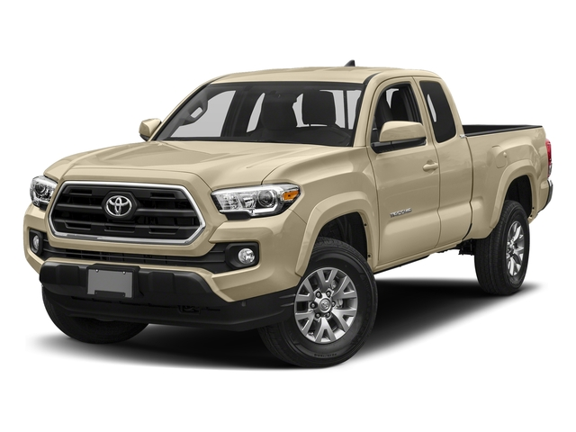 Quicksand 2018 Toyota Tacoma Pictures Tacoma SR5 Extended Cab 4WD I4 photos front view