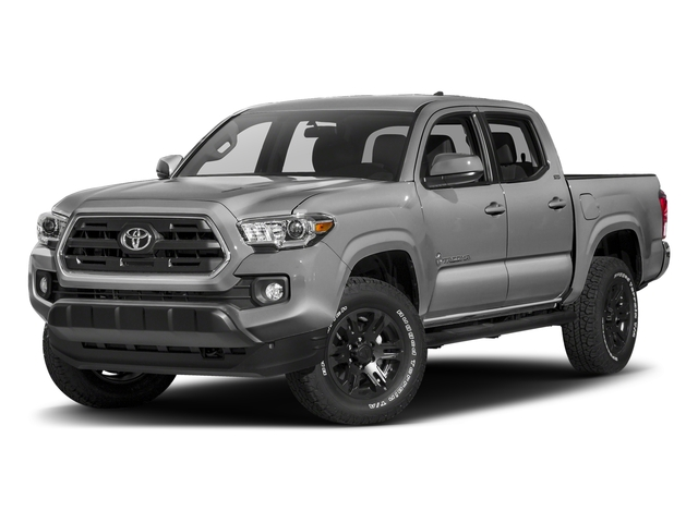 Silver Sky Metallic 2018 Toyota Tacoma Pictures Tacoma SR5 Crew Cab 4WD V6 photos front view