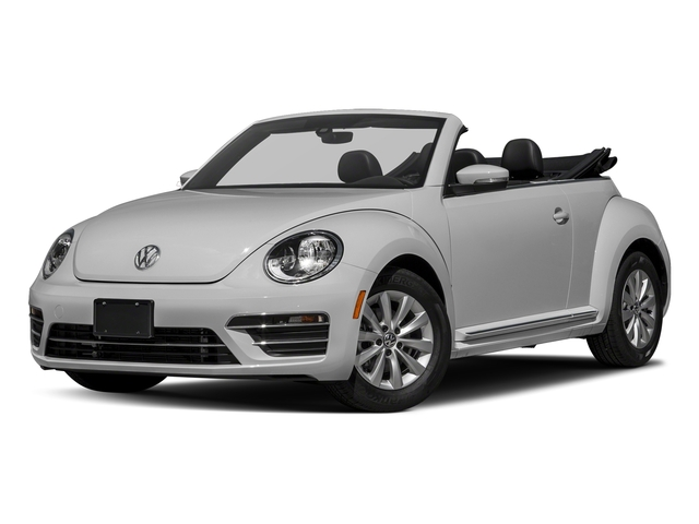 White Silver Metallic/Black Roof 2018 Volkswagen Beetle Convertible Pictures Beetle Convertible S Auto photos front view
