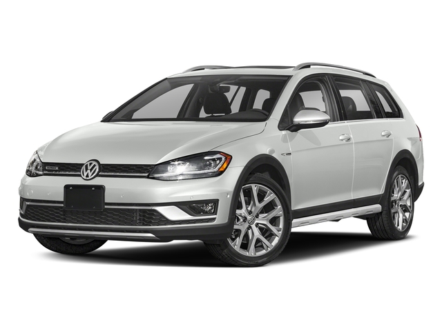 Pure White 2018 Volkswagen Golf Alltrack Pictures Golf Alltrack 1.8T SE DSG photos front view