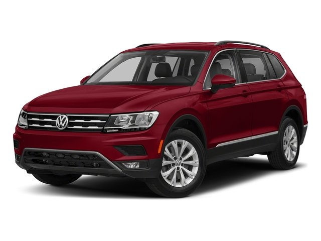 Cardinal Red Metallic 2018 Volkswagen Tiguan Pictures Tiguan 2.0T SEL 4MOTION photos front view