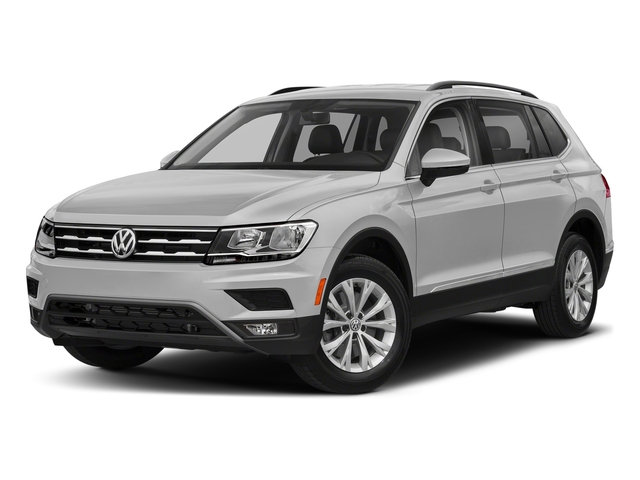 White Silver Metallic 2018 Volkswagen Tiguan Pictures Tiguan 2.0T SEL 4MOTION photos front view