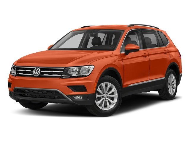 Habanero Orange Metallic 2018 Volkswagen Tiguan Pictures Tiguan 2.0T SEL 4MOTION photos front view