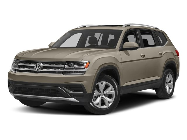 Titanium Beige Metallic 2018 Volkswagen Atlas Pictures Atlas 3.6L V6 SEL 4MOTION photos front view