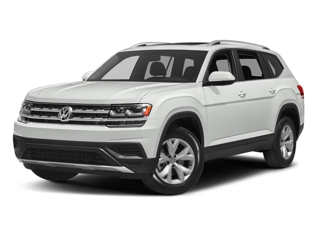 Pure White 2018 Volkswagen Atlas Pictures Atlas 3.6L V6 S 4MOTION photos front view