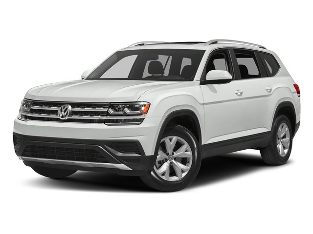 Pure White 2018 Volkswagen Atlas Pictures Atlas 3.6L V6 SEL 4MOTION photos front view