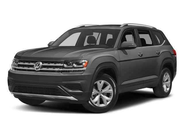 Platinum Gray Metallic 2018 Volkswagen Atlas Pictures Atlas 3.6L V6 SEL 4MOTION photos front view