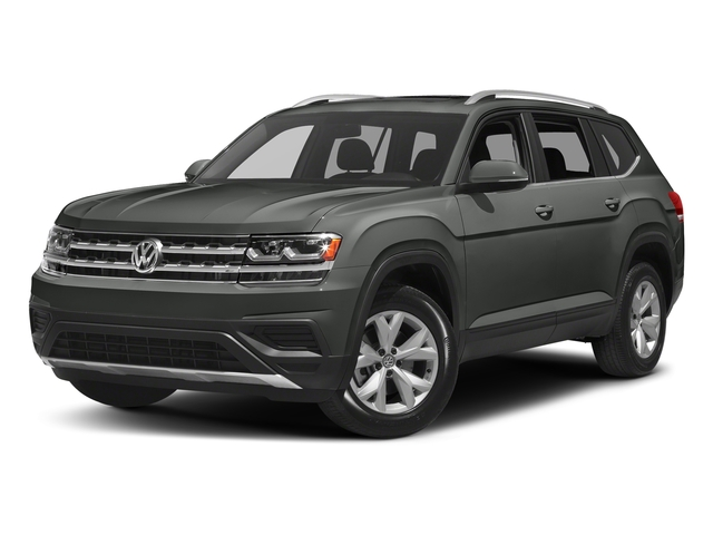Platinum Gray Metallic 2018 Volkswagen Atlas Pictures Atlas 3.6L V6 S 4MOTION photos front view